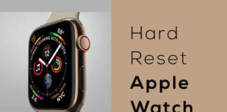 How to Hard Reset Apple Watch 2020