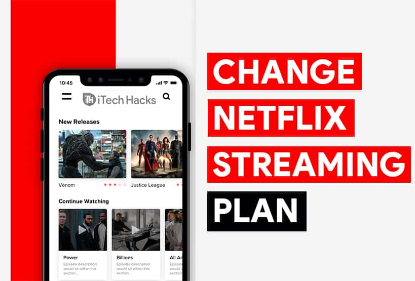 How To Change Netflix Streaming Plan 2020