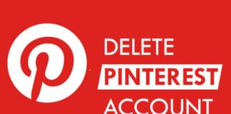 How To Delete/Deactivate Pinterest Account 2020