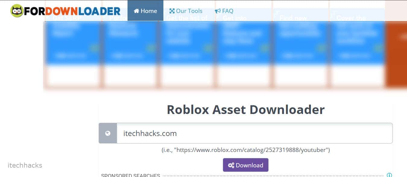Roblox Asset Downloader