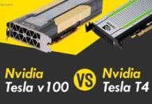 Best Nvidia Tesla V100 Volta VS Nvidia Tesla T4 GPU of 2020