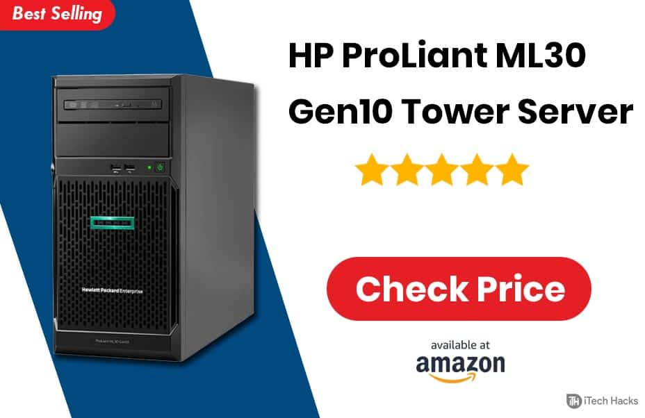 HP ProLiant ML30 Gen10 Tower Server 2020