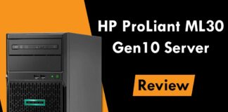 HP ProLiant ML30 Gen10 Tower Server 2020 (Review & Rated)