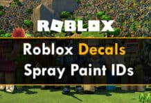 Roblox Decals IDs & Spray Paint ID 2020 (Working)