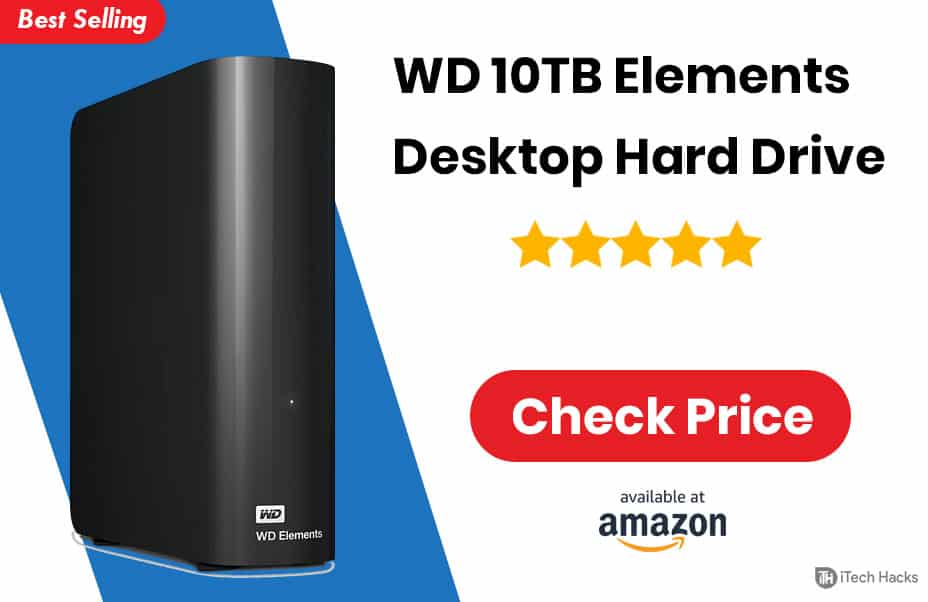WD 10 TB Elements Desktop