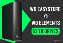 WD Easystore and WD 10 TB Elements External Drive Review