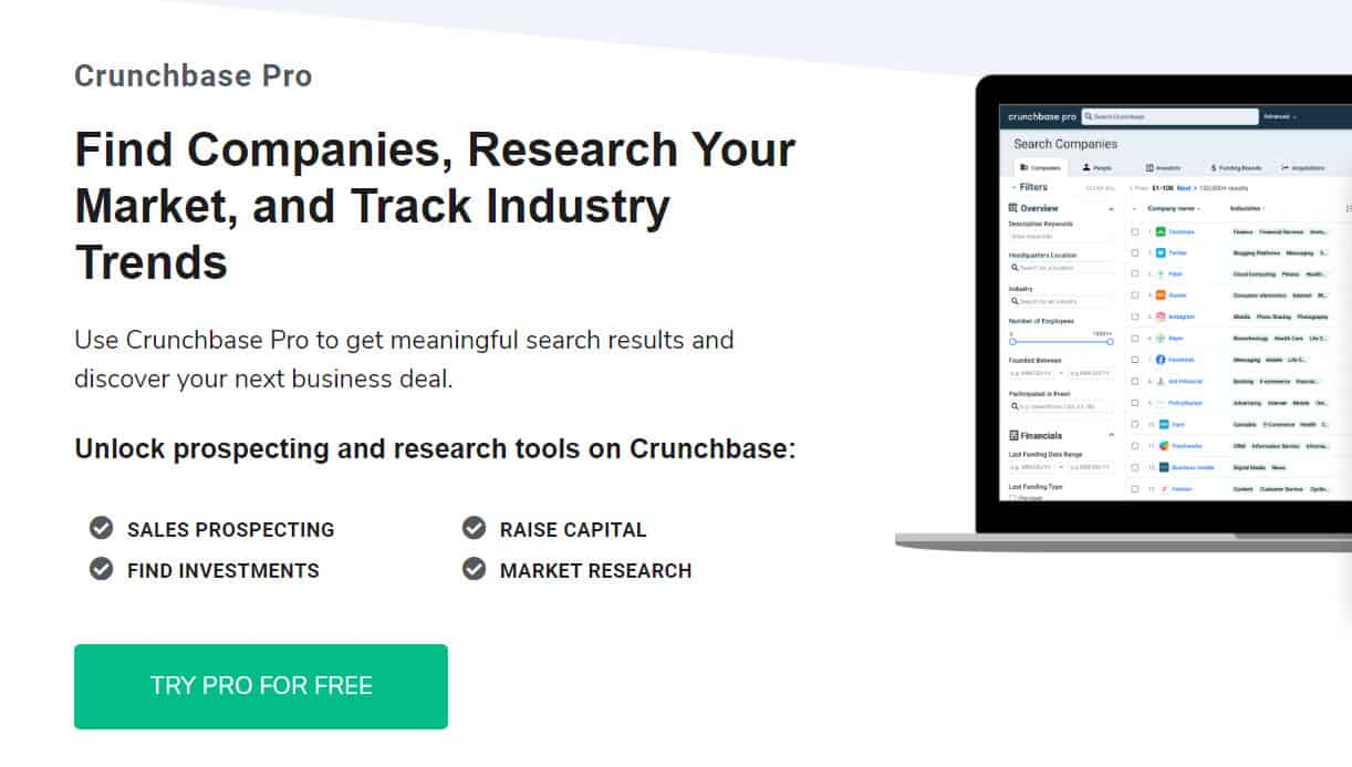 How To Get Crunchbase Pro Account for Free