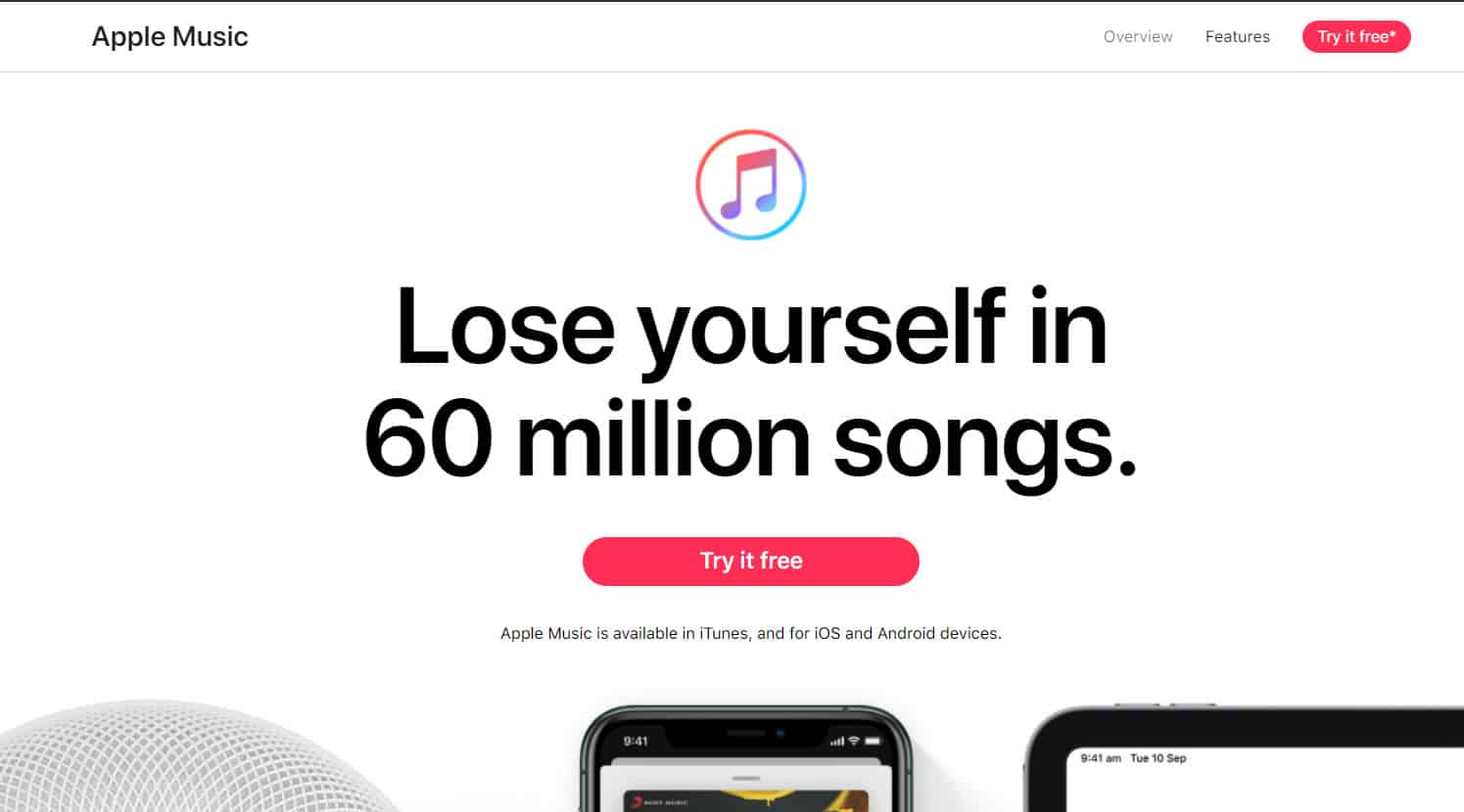 Get Apple Music free for 3 months (Free Trial)