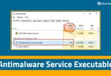 How to Fix 'Antimalware Service Executable' High CPU