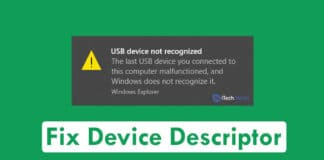How to Fix Device Descriptor Request Failed (Solved)