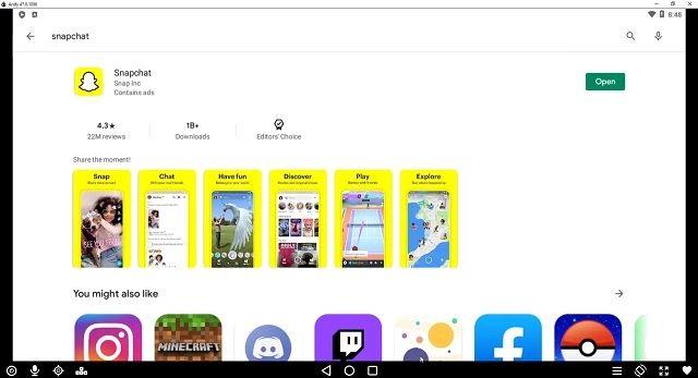 Use Snapchat on Windows, Mac, and PC
