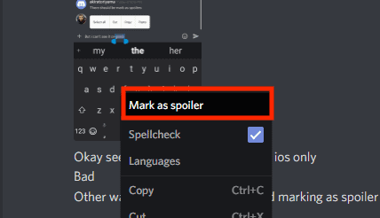How to Discord Mark as Spoiler on Android, Desktop