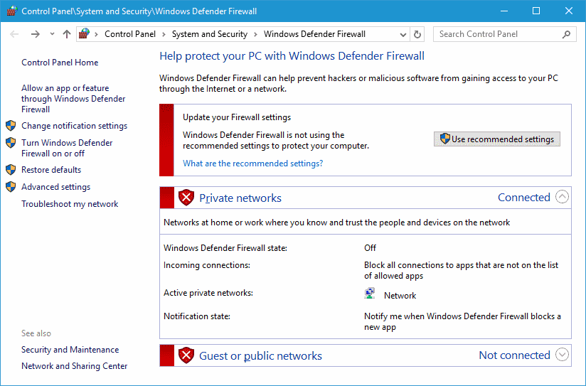 Whitelist Twitch app in Windows Firewall.