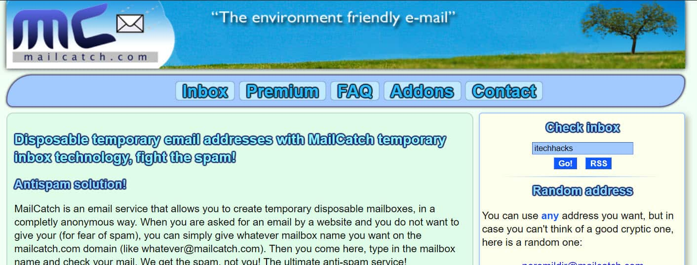 Instantly Create a Fake Email Address