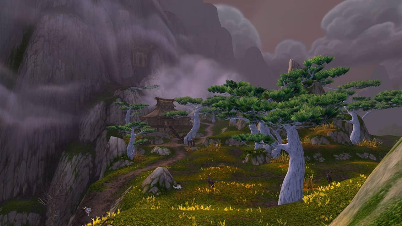 Veils of the mist of Pandaria