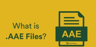 What is AAE File Extension? How to Open it on your Mobile/PC