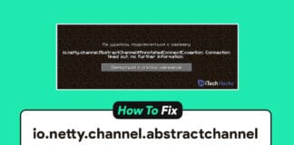 How To Fix io.netty.channel.abstractchannel Connection Time Out on Minecraft