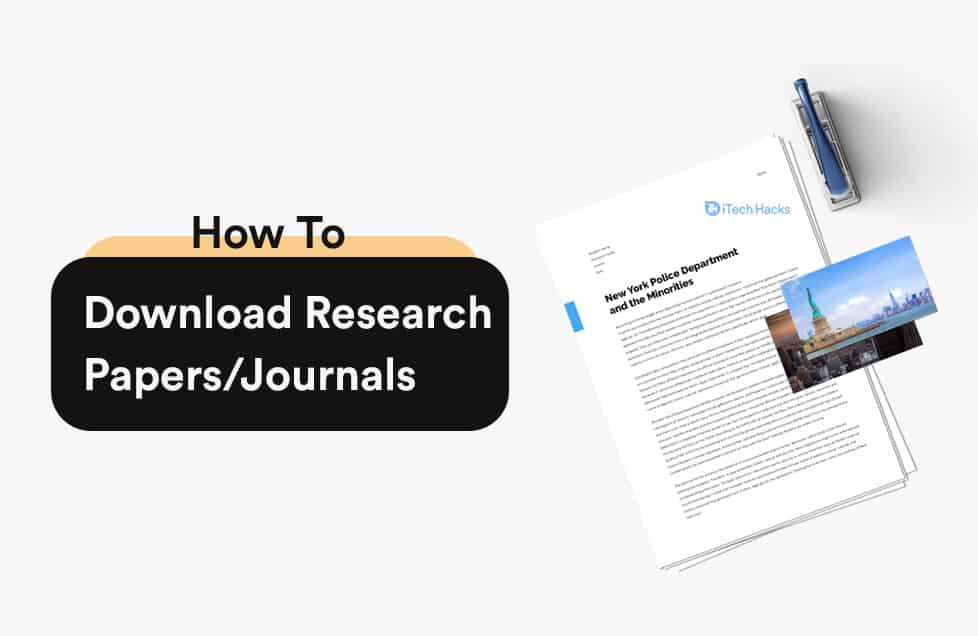 How to Download Research Papers/Journals for Free in 2021