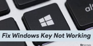 How To Fix Windows Key or Button Not Working