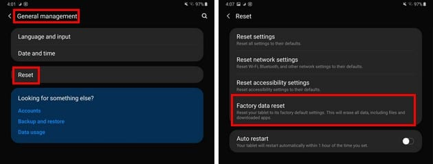 How to Factory Reset Samsung Galaxy Tablet