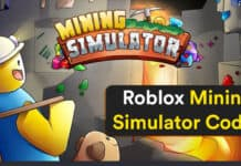Roblox Codes for Mining Simulator (2021)