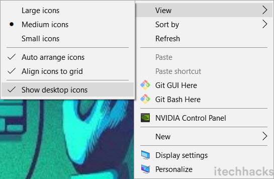How To Fix Desktop Icons Missing or Disappeared in Windows
