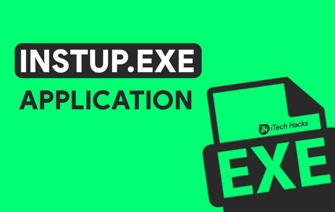 Fix Instup.exe Application Error on Windows 10