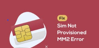 How To Fix Sim Not Provisioned MM2 Error
