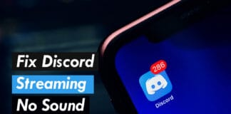 How to Fix Discord Streaming No Sound Issues