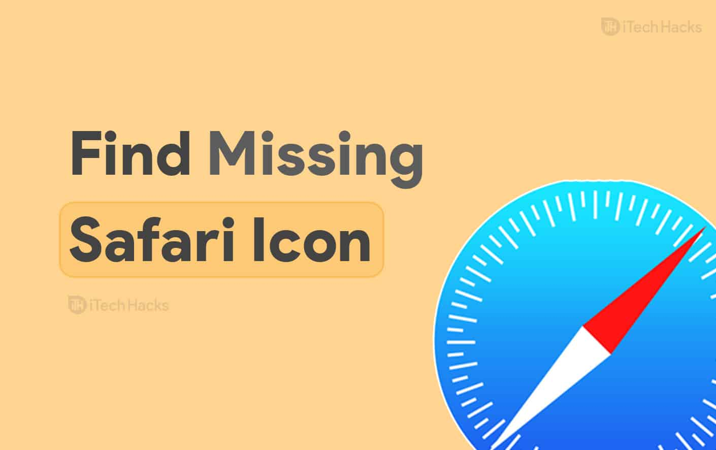 How to Find Missing Safari Icon: iPhone/iPad