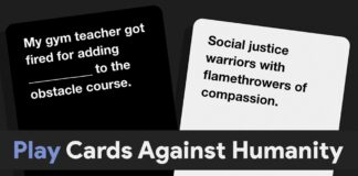 Best Websites To Online Play Cards Against Humanity