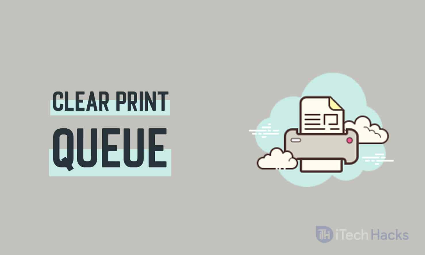 How to Clear Print Queue in Windows Easily