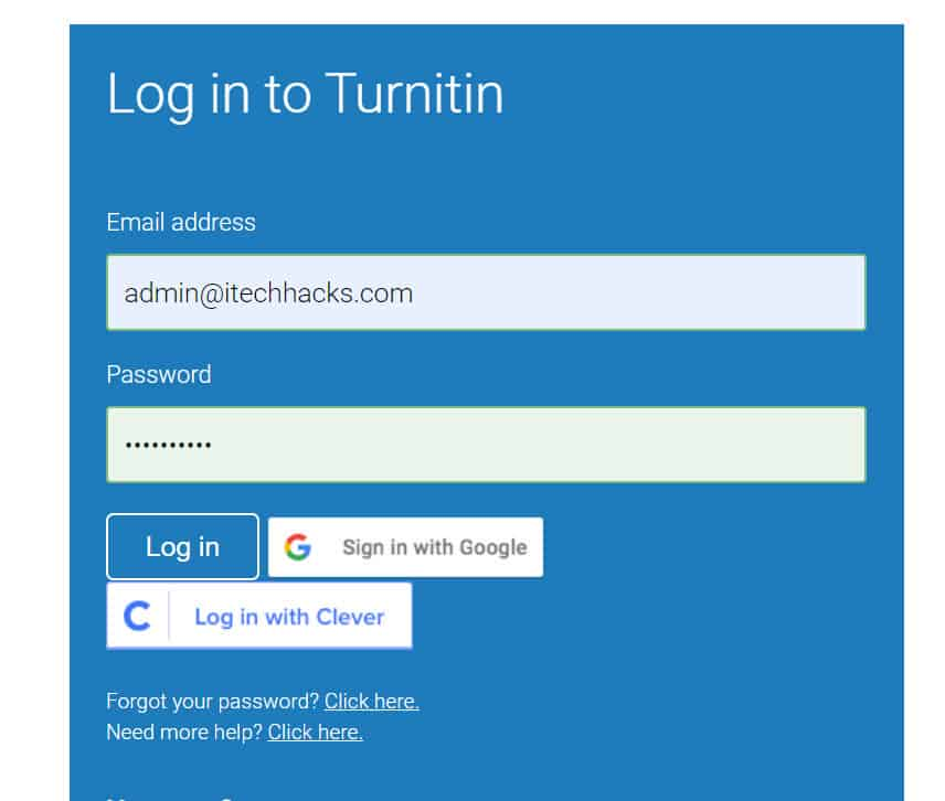 How to Get Turnitin Access