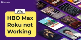 How to Fix HBO Max on Roku Not Working