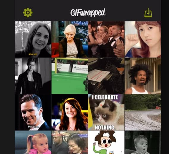 Download GIF from Twitter On iOS.