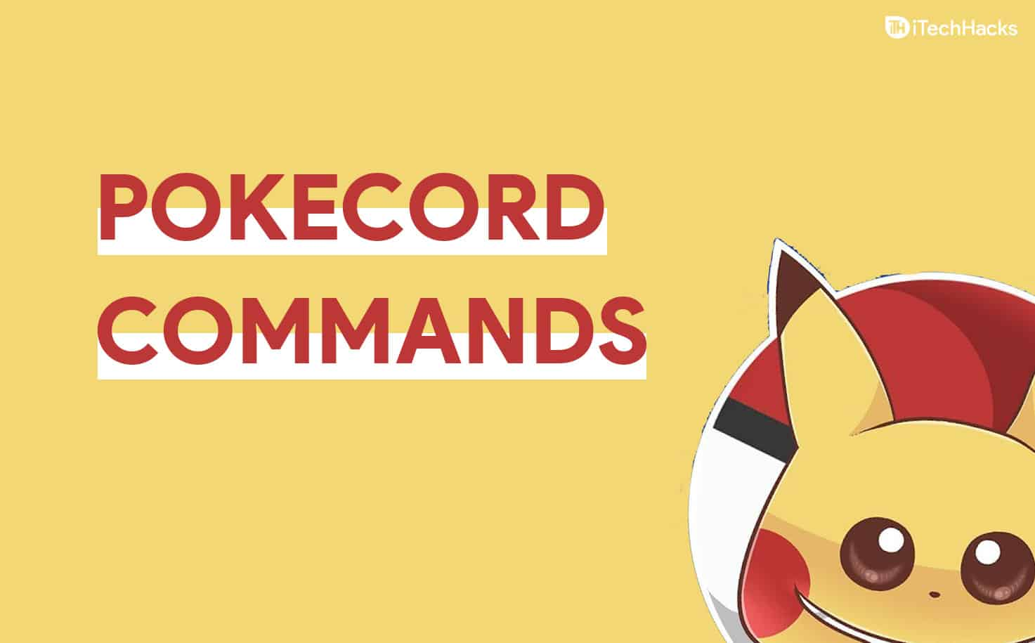 Pokecord Commands & Bot Guide 2021