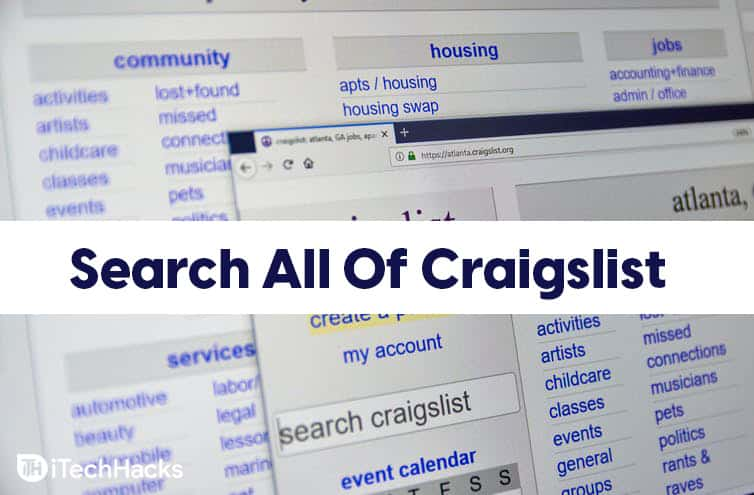 How To Search All Of Craigslist Nationwide