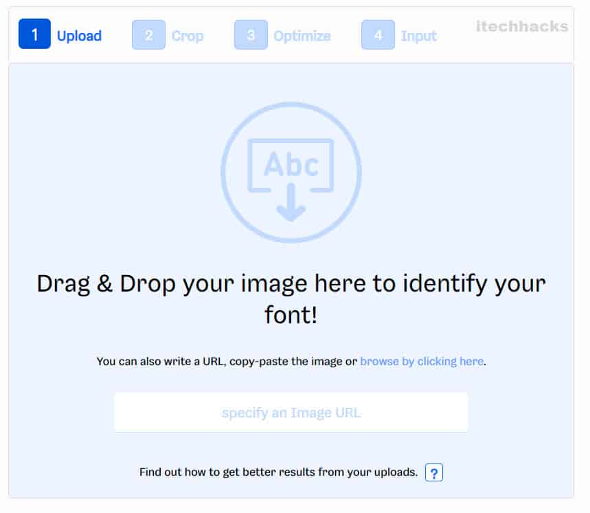 Font Finder by Image