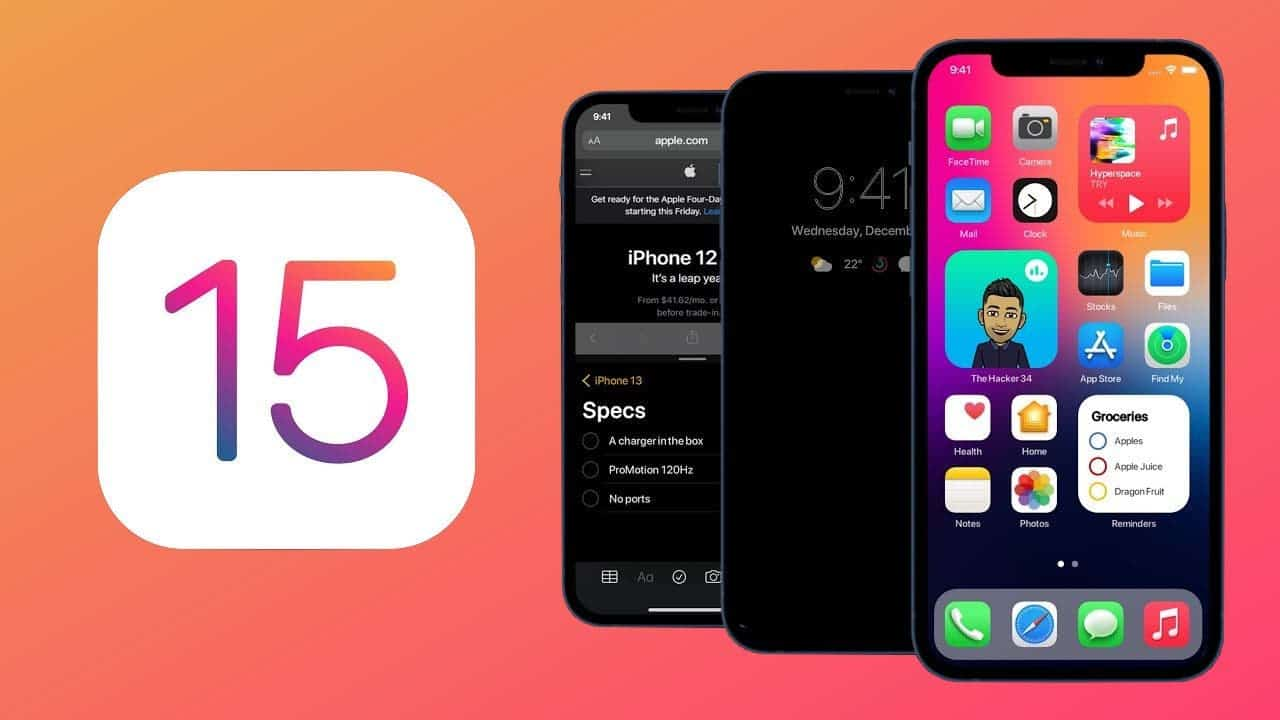 iOS 15: Release Date, Features, Supported iPhones