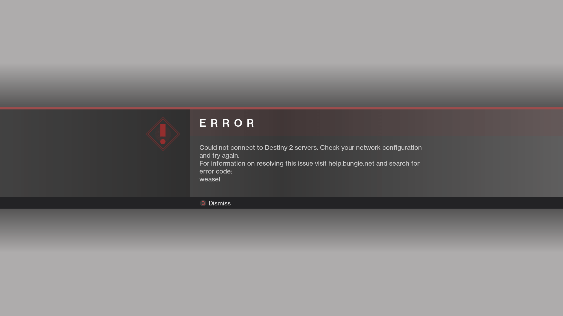 How To Fix Destiny Error Code Weasel Issue Easy Fix