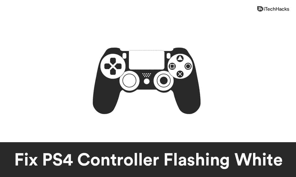 How To Fix PS4 Controller Flashing White Light