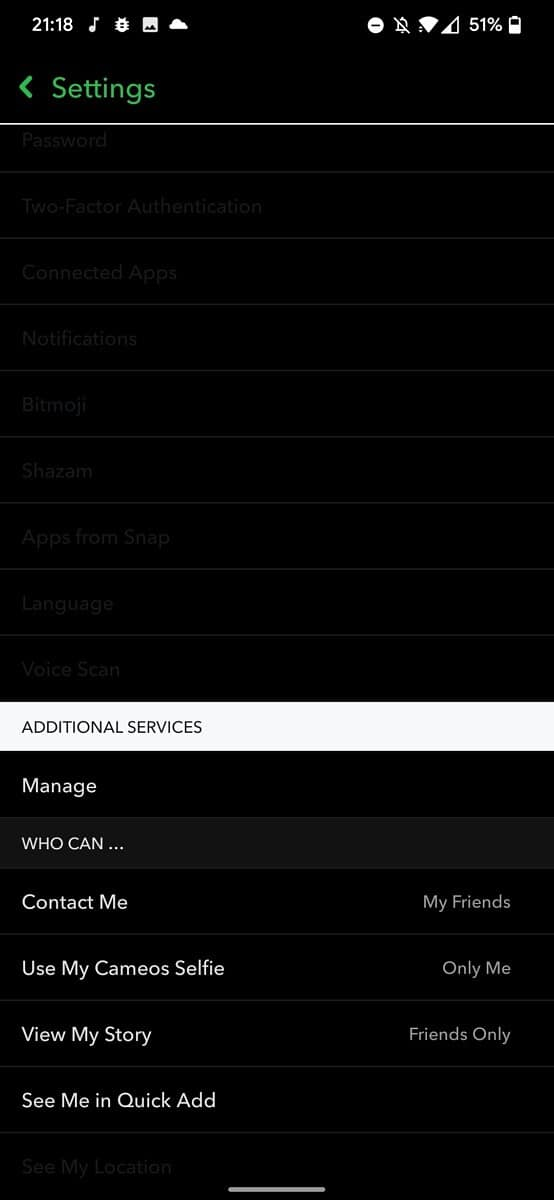 Get Dark Mode on Snapchat for Android