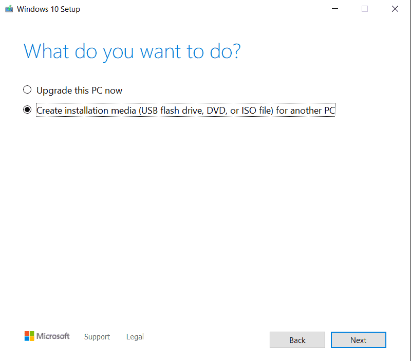 How To Create A Bootable USB In Windows 10?