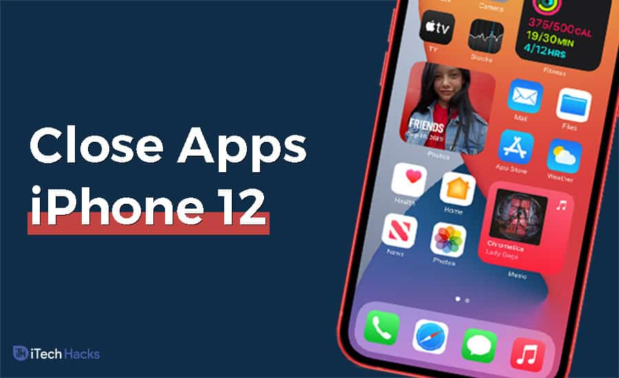 How To Close Background Running Apps on iPhone 12