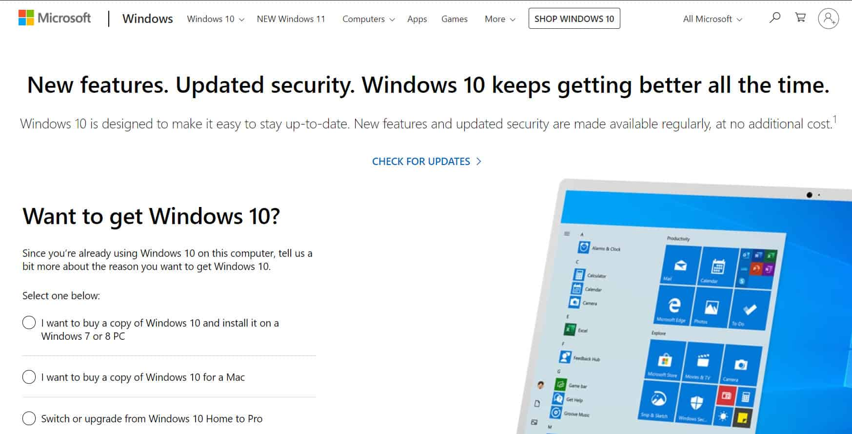 Buying Windows 11 From Microsoft Store