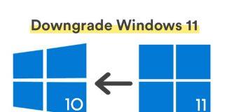 How to Downgrade Windows 11 to Windows 10