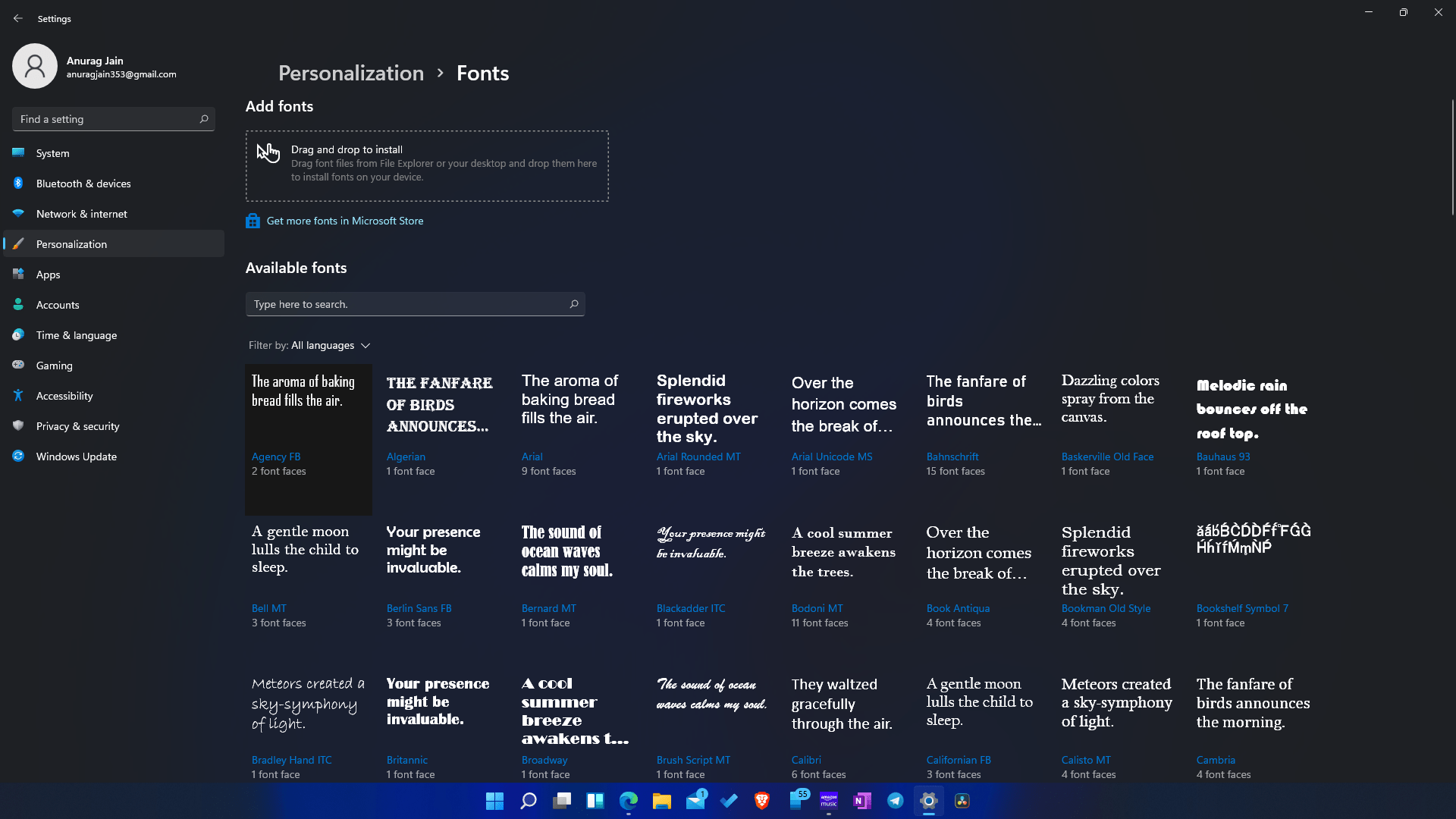 How To Install Fonts In Windows 11?