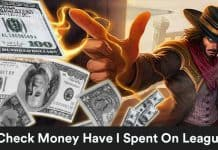 How Much Money Have I Spent On League Of Legends