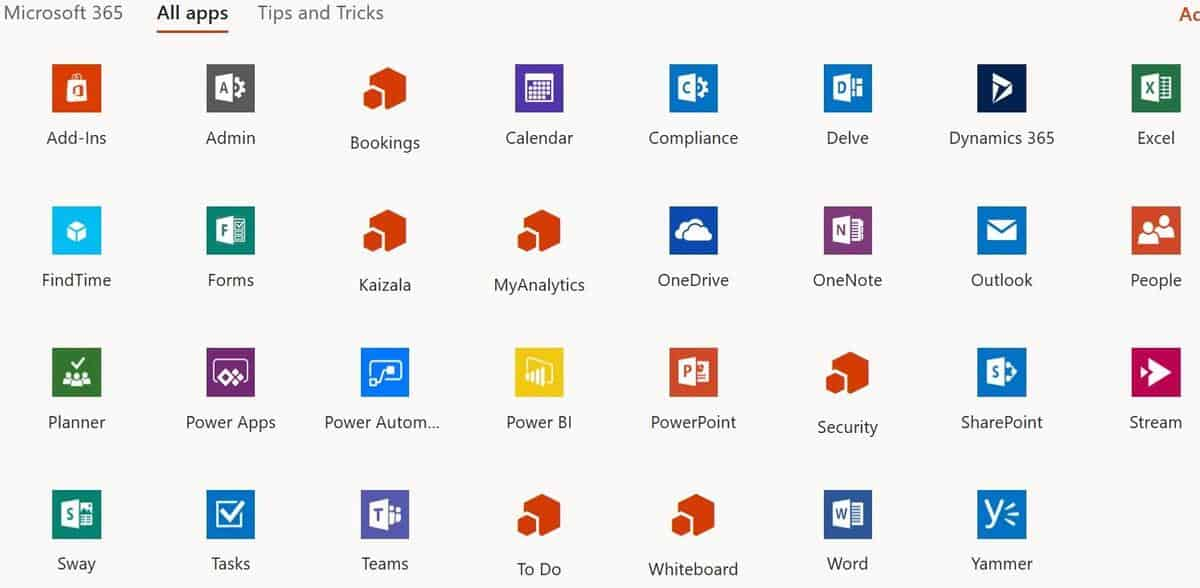 What Apps Do You Get In Microsoft Office 2019?