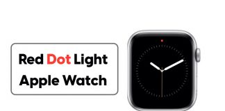 How to Remove and Turn off Red Dot Light on Apple Watch